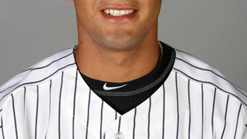 This image shows New York Yankees' Gleyber Torres Tuesday Feb. 21, 2017, in Tampa, Fla. This photo represents the team's roster as of Feb. 21, 2017. (AP Photo/Chris O'Meara)32