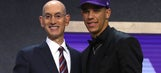 Lakers draft Lonzo Ball, father with No. 2 overall pick