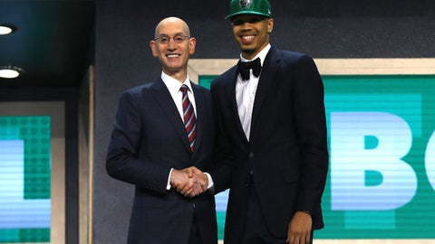 Jayson Tatum, SF, Celtics (No. 3)