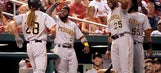 Bell, Jaso homer to lead Pirates past Cardinals 4-3