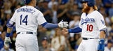 Dodgers beat Rockies 6-1 for 8th straight win