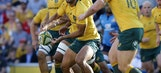Australia scores 2 late tries to clinch rugby win over Italy