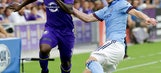 Sweat, NYCFC top Red Bulls 2-0 in Hudson River Derby