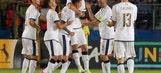 Saul Niguez scores 3 for Spain to reach European U21 final