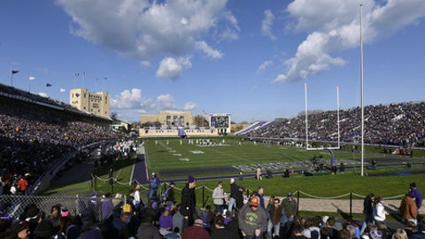 Ryan Field during an NCAA college football game between Penn State and  Northwestern in Evanston, Ill.,  Saturday, Nov. 7, 2015. (AP Photo/Matt Marton)