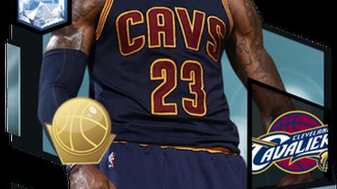 3. LeBron James (95 Overall)