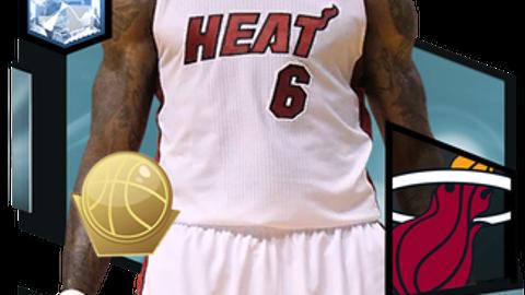 1. LeBron James (98 Overall)