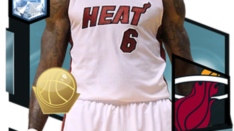 1. LeBron James (98 Overall)