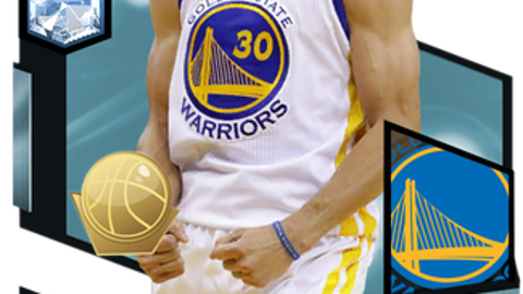 Honorable Mention: Steph Curry card