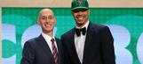 Boston Celtics select Duke's Jayson Tatum with No. 3 pick in NBA Draft