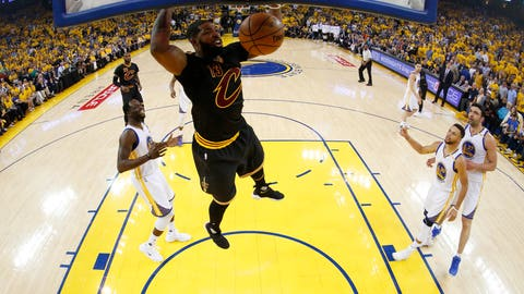 Cleveland must dominate the Warriors on the glass