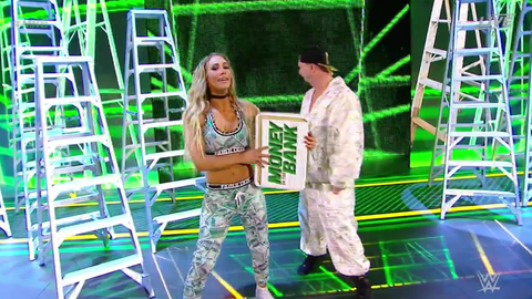 Carmella won the women's Money In The Bank match