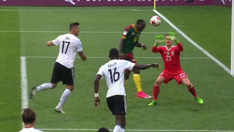 Vincent Aboubakar scores for Cameroon   2017 FIFA Confederations Cup Highlights