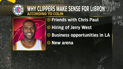 The Clippers could present a more attractive future for LeBron on and off the court