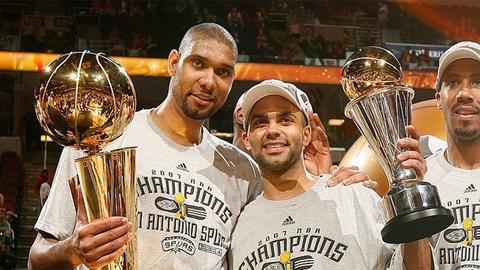 Tony Parker earns NBA Finals MVP