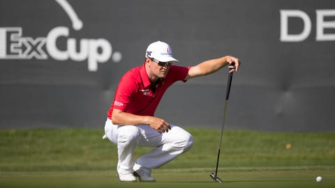 9:13 a.m. ET: Danny Willett, Zach Johnson, Angel Cabrera