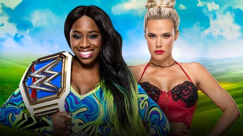 Naomi vs. Lana for the SmackDown Women's Championship
