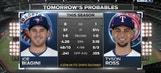 Tyson Ross goes in Game 3 vs. Blue Jays | Rangers Live