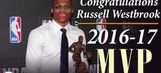 Congrats to Russell Westbrook on MVP season