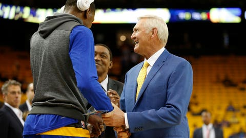 Jerry West on Kevin Durant