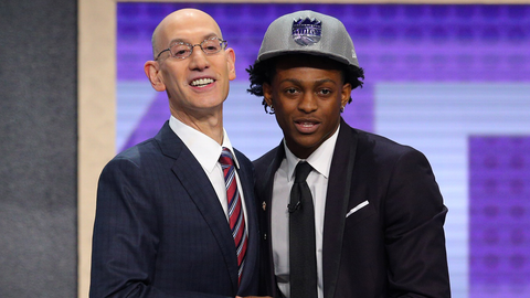 De'Aaron Fox | Sacramento Kings | College: Kentucky