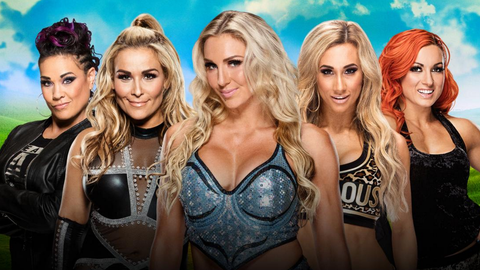 Charlotte vs. Natalya vs. Tamina vs. Carmella vs. Becky Lynch in a Money In The Bank ladder match