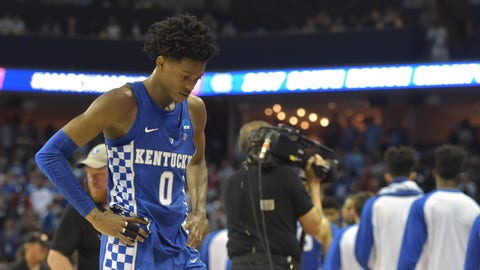 Fox will enter the league with a chip on his shoulder