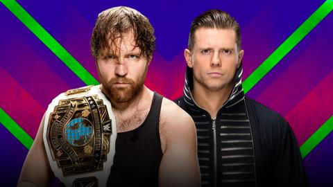 Dean Ambrose vs. The Miz for the Intercontinental Championship