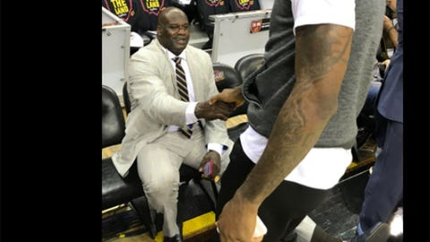 Shaq and LeBron