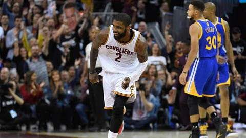 VIDEO: Skip says Kyrie Irving will push the Celtics past LeBron's Cavs in the East