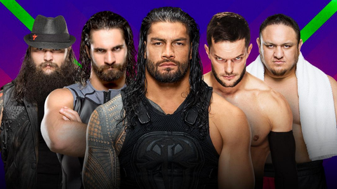 Finn Balor vs. Seth Rollins vs. Bray Wyatt vs. Roman Reigns vs. Samoa Joe in a Fatal 5-Way Extreme Rules match