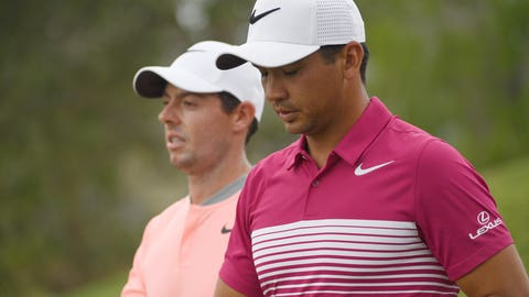 3:09 p.m. ET: Jason Day, Justin Rose, Rory McIlroy