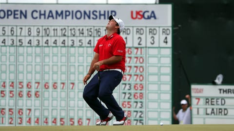 3:21 p.m. ET - Russell Henley (-8), Patrick Reed (-8)