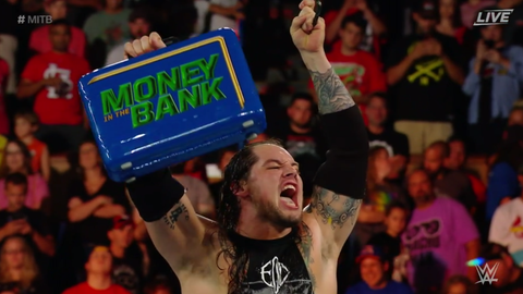 Baron Corbin won the Money In The Bank ladder match
