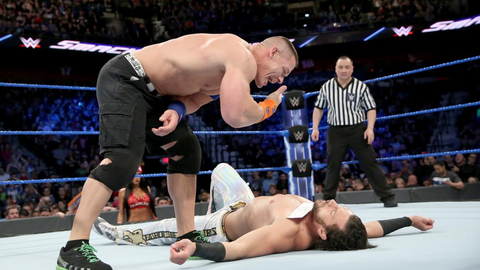 Fox Sports: During your absence, it was announced  that John Cena is no longer exclusively tied to SmackDown. Do you think that's fair to your show?