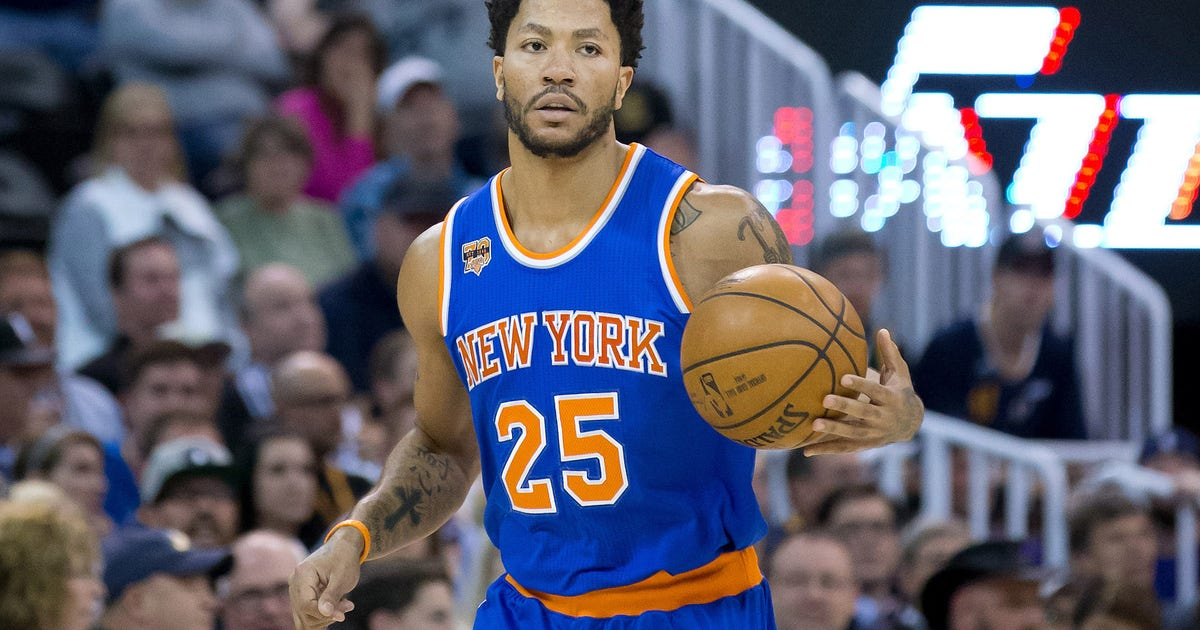 44948cd7fe7e Derrick Rose  5 potential landing spots in 2017 NBA free agency ...
