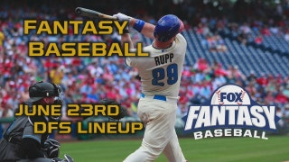 Daily Fantasy Baseball Advice - June 23 - DraftKings