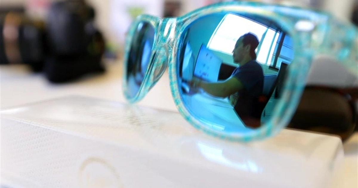 938522f777 Take a tour of the Knockaround sunglasses facilities