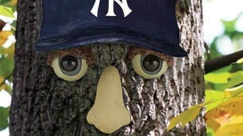 New York Yankees resin tree face