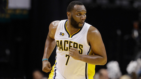 Al Jefferson gets added to the deal in exchange for Mozgov, Clarkson and Larry Nance Jr.