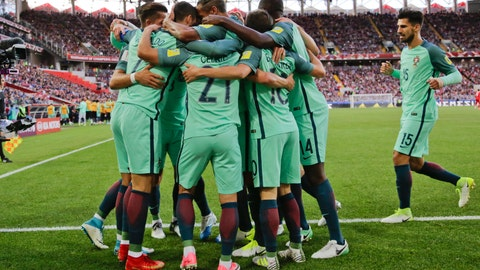 Portugal have one foot in the semifinals