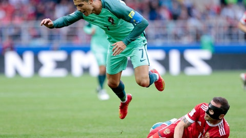 Portugal played with some ambition again