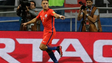 Congratulations to Alexis Sanchez