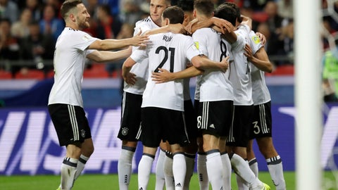 Germany show off their depth again