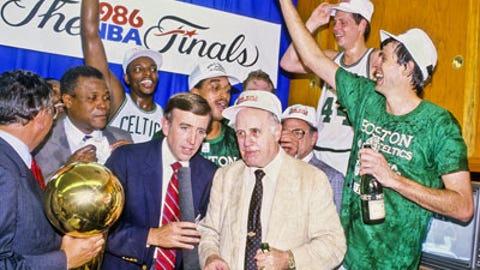 1986 Boston Celtics (67-15, 15-3)