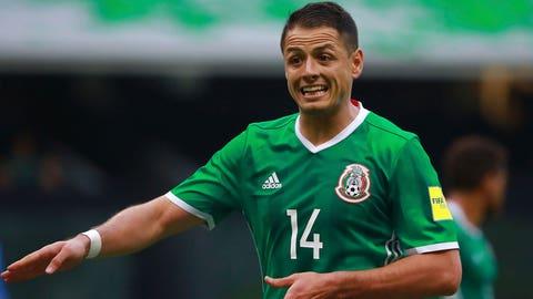 """Javier """"Chicharito"""" Hernandez: 5"""