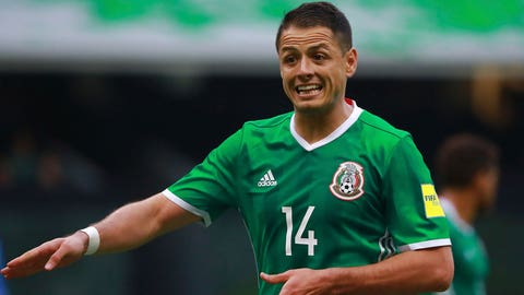 "Javier ""Chicharito"" Hernandez (Mexico)"