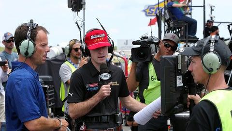 Chris Neville, FOX NASCAR reporter