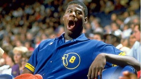 Chris Washburn, Golden State Warriors, 1986