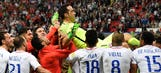 Chile reaches third straight major final after Claudio Bravo PK heroics vs. Portugal